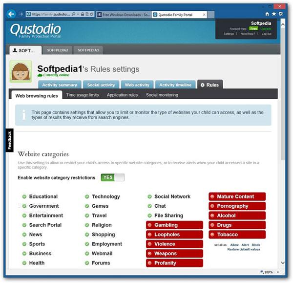 Qustodio mobile track app