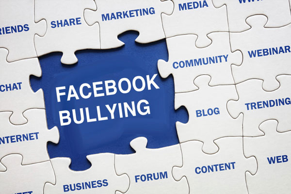 How to deal with Facebook bullying?