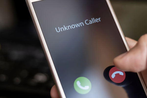 How to track incoming calls on a cell phone?