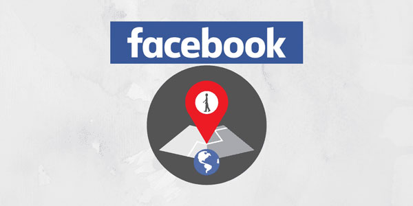 How do you find someone's location through Facebook?