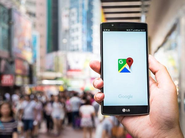 How do I track someone using Google maps?