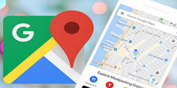 How do I track a cell phone using Google maps?